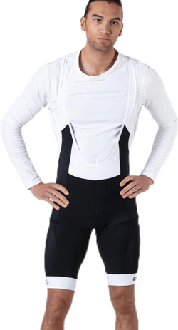Velo Bib Shorts White/Black