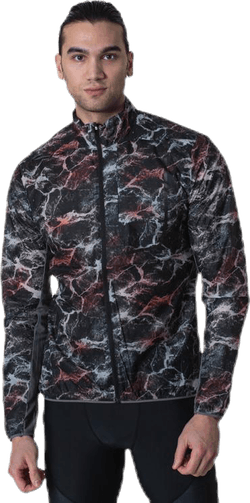 Vent Pack Jacket Patterned/Black