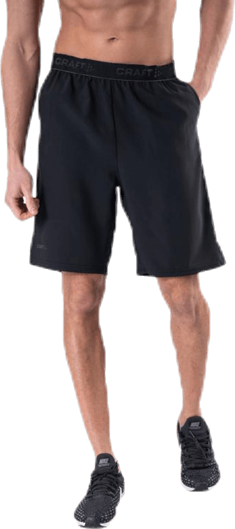 Core Essence Relaxed Shorts Black