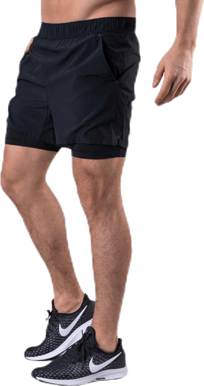 ADV Essence 2-In-1 Stretch Shorts Black