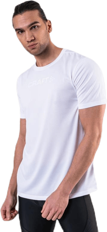 Core Essence SS Mesh Tee White