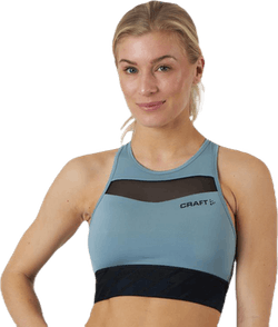 Charge Cropped Mesh Singlet Grey