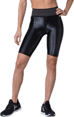 UNMTD Shiny Short Tights Black