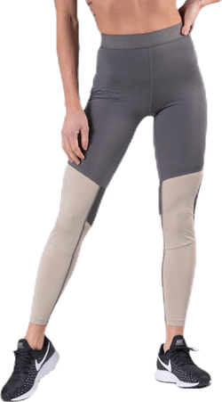 Vent Tights Grey/Beige