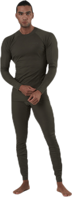 Core Warm Baselayer Set Green