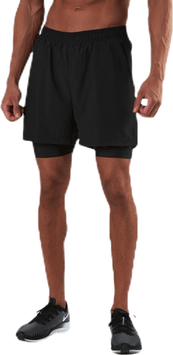 ADV Charge 2 In 1 Shorts Black