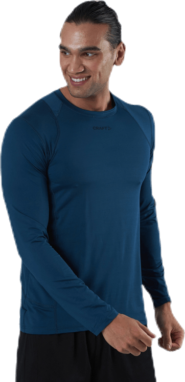 ADV Essence LS Tee Blue