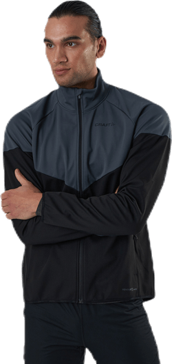 Glide Block Jacket Black/Grey