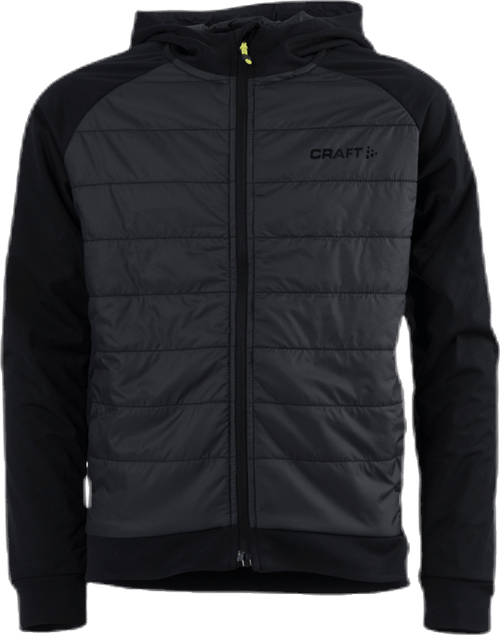 Adv Insulate Hood Jacket Jr Black