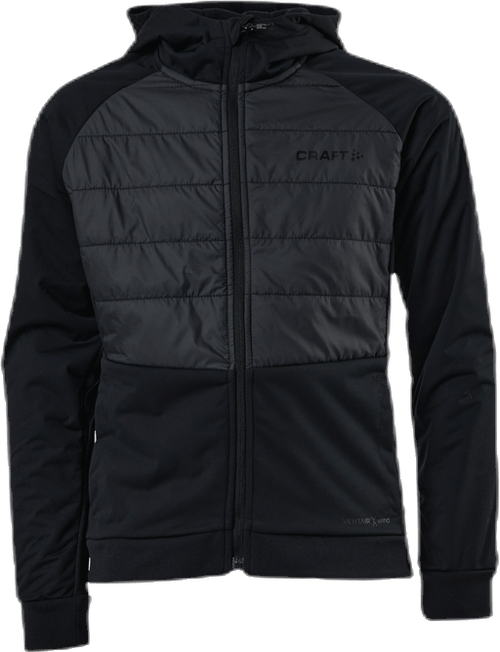 Adv Thermal XC Hood Jacket Jr Black