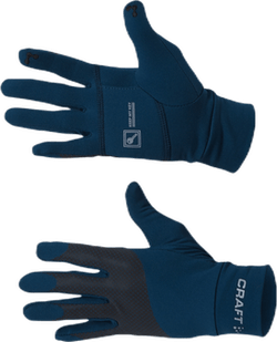 Lumen Fleece Glove Blue