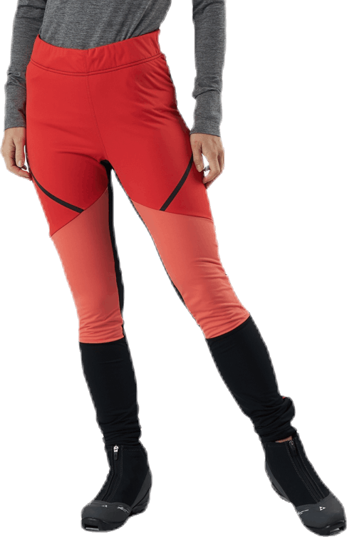 Glide Wind Tights Red
