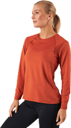 ADV Essence LS Tee Orange