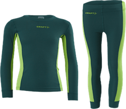 Core Dry Baselayer Set Jr Blue