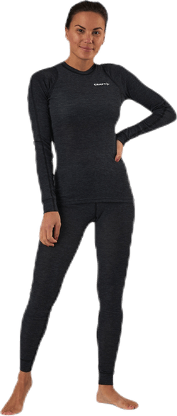 Core Wool Merino Set Black