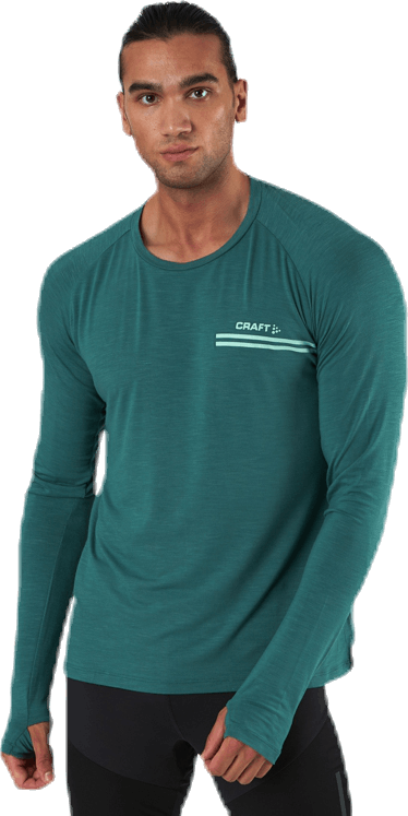 Core Sence LS Tee Green
