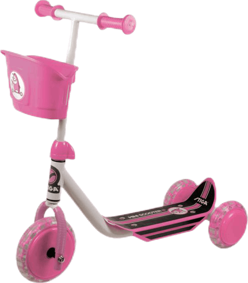 Kid 3W Scooter Pink
