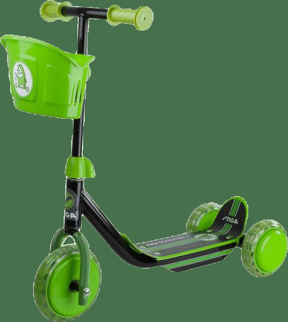 Kid 3W Scooter Green/Black