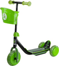 Kid 3W Scooter Green/Black