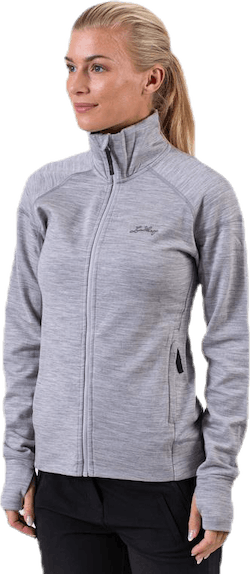 Ullto Merino Full Zip Grey