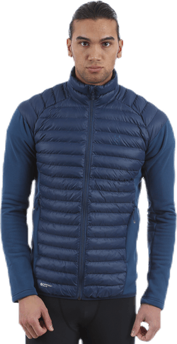 Mimic Hybrid Jacket Blue