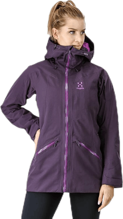 Niva Insulated Parka Purple
