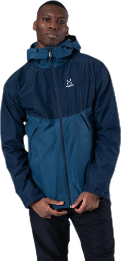 Mila Rain Jacket Blue
