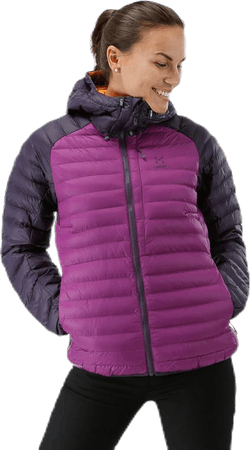 Essens Mimic Hood Purple