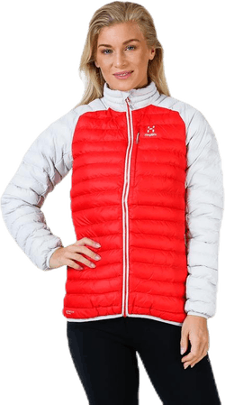 Essens Mimic Jacket White/Red