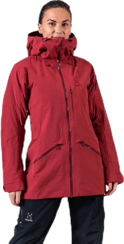Niva Insulated Parka Red