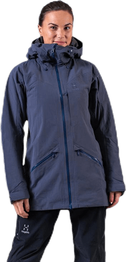 Niva Insulated Parka Blue