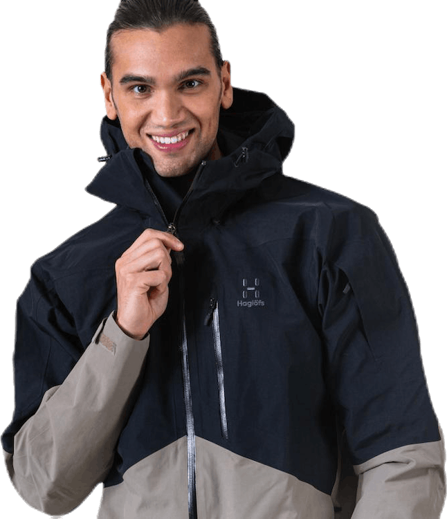 Nengal Jacket Men Black/Beige