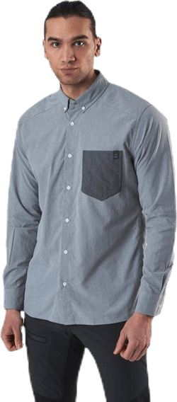 Vejan LS Shirt Grey