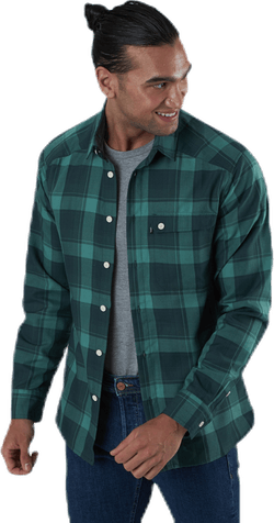 Tarn Flannell Shirt Green