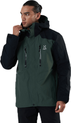 Elation GTX Jacket Black/Green