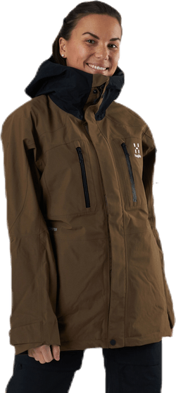 Elation GTX Jacket Brown/Black