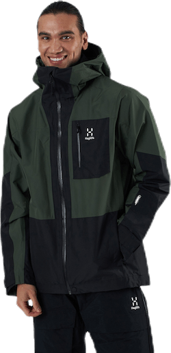Lumi Jacket Black/Green
