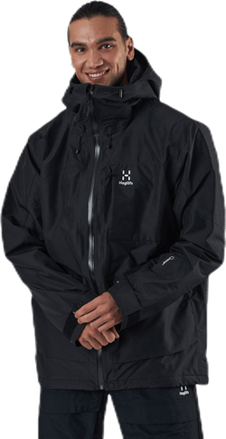 Lumi Insulated Jacket Black