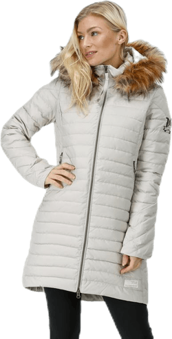 Earth Saver Long Jacket Beige