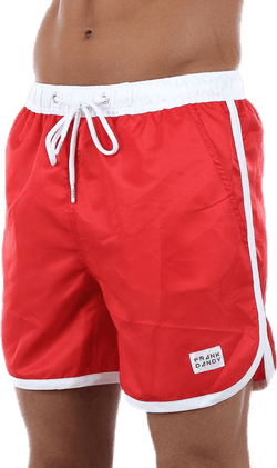 St Paul Bermuda Swimshorts Red