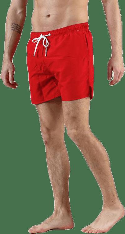 Breeze Long Swim Shorts Red