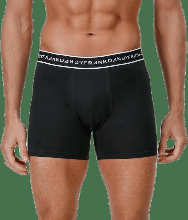 Organic Cotton Boxer 5-Pack Black