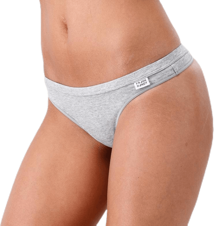 Bamboo Legend Thong Grey