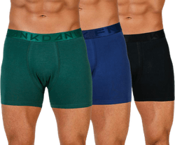 Legend Organic Boxer 3-Pack Blue/Black