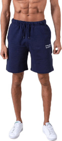 Solid Sweat Shorts Blue