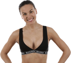 Iconic Cotton Bra 1-p Black