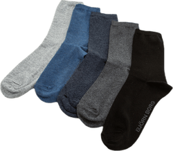 Essential Socks 5-Pack Grey