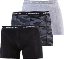 Shadeline Shorts 3-Pack Black