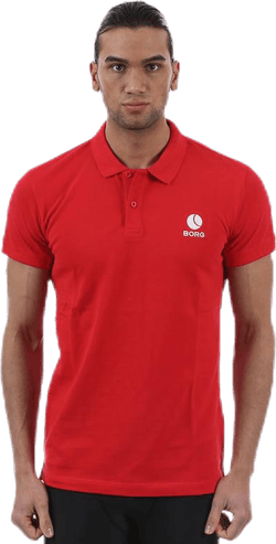 Borg Polo Red