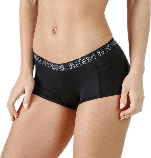 Solid Minishorts Black